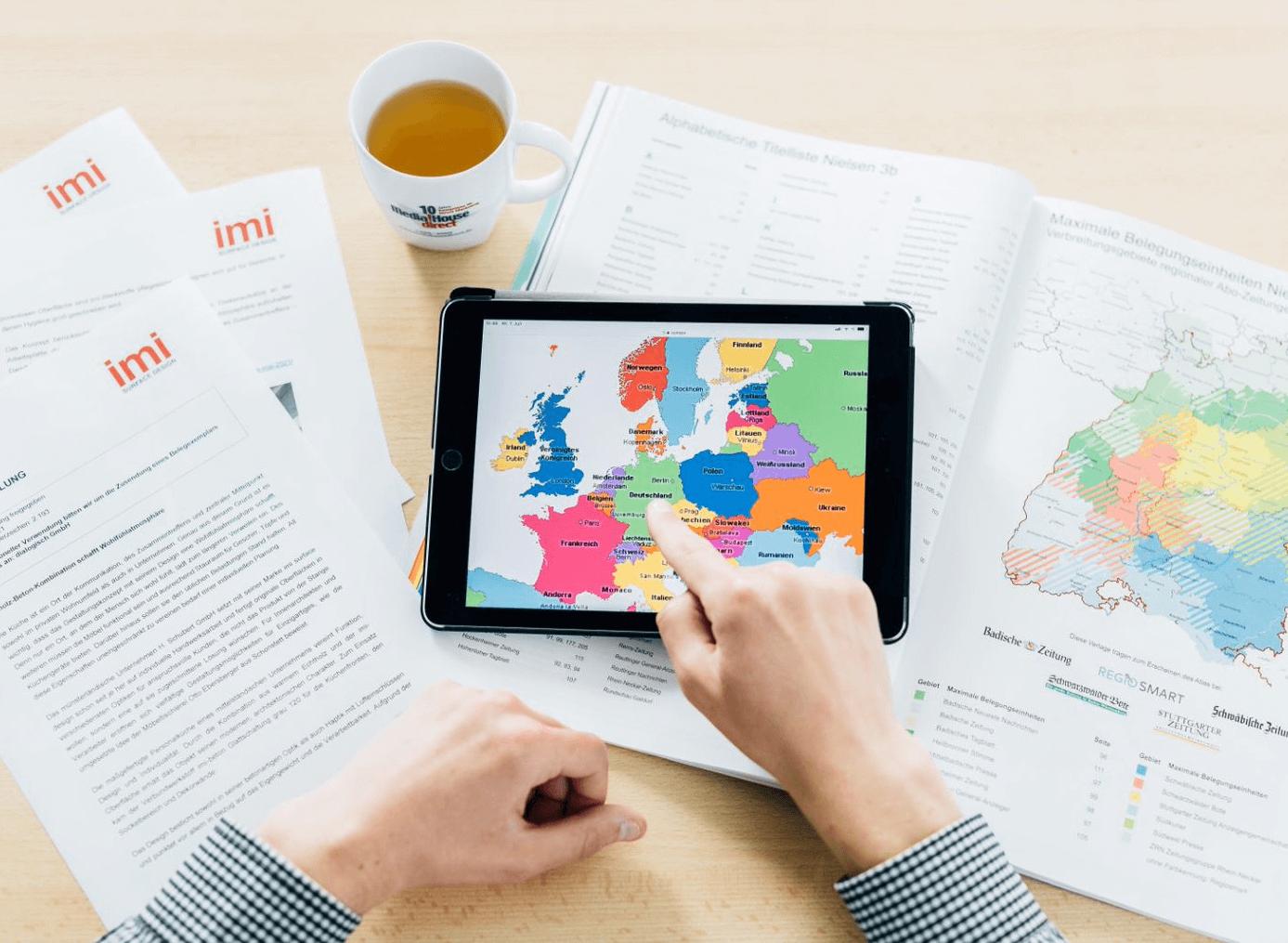 Media!House direct ist sowohl in der DACH-Region als auch europaweit tätig.